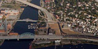 overhead photo of providence, rhode island
