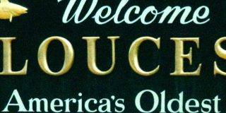welcome to glouchester sign