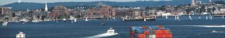 harbor photo with commercial and pleasure boats